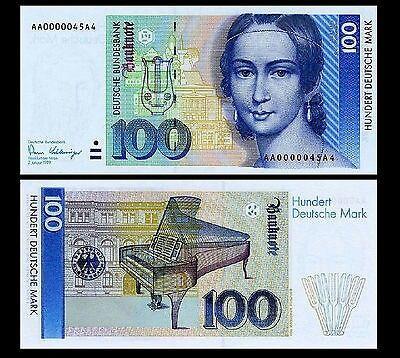 100 DM Schein neu Deutsche mark, Dm scheine