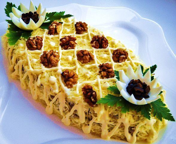 Mash Potatoe - Pinneaple shaped