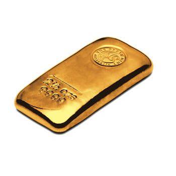 Perth Mint 2.5oz Gold Cast Bar