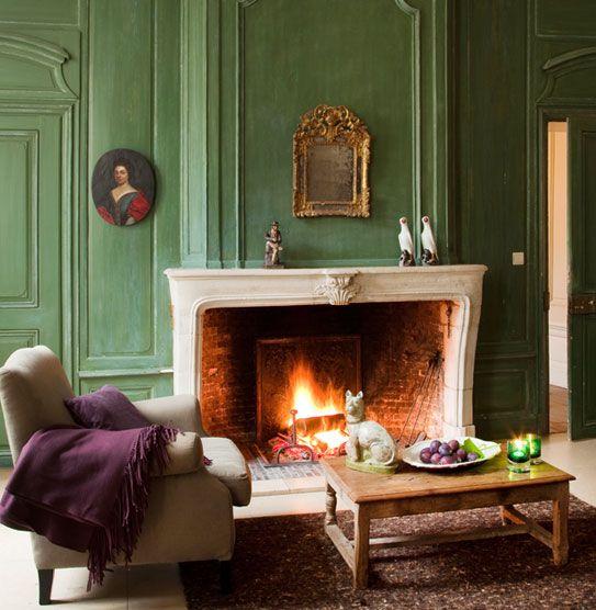 Old Fireplace showroom Pol Standaert Bruges Belgium
