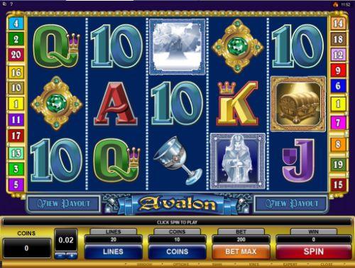 Play Avalon slots