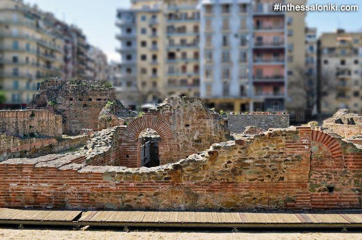 Galerious Palace in Roman Thessaloniki