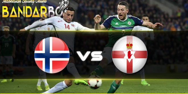 bandarbo.net Prediksi Norwegia vs Irlandia Utara 09 Oktober 2017 link alternatif bandarbo.com