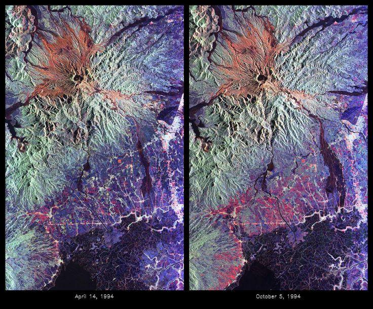 Mount Pinatubo Volcano, Philippines