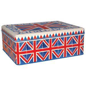 Union Jack Rectangular Tin £8.00