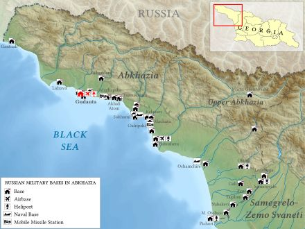 Best Georgia Images On Pinterest Russia Central Asia And - Georgia map military bases