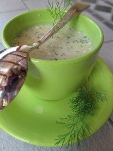 Soupe froide de courge blanche - Atelier Cuisine Bio