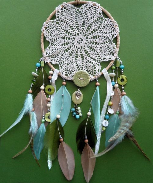 1000 images about dream catchers on pinterest string for How to make a double ring dreamcatcher
