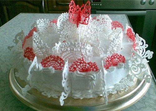 Как украсить торт. Галерея фото