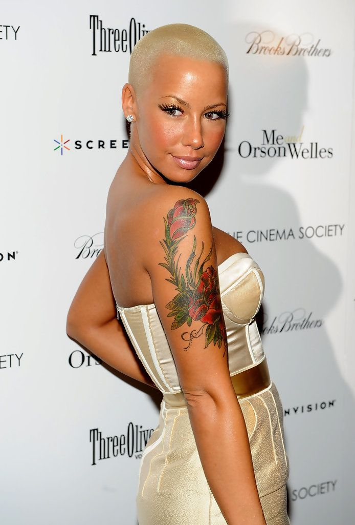 Actress and model Amber Rose ......