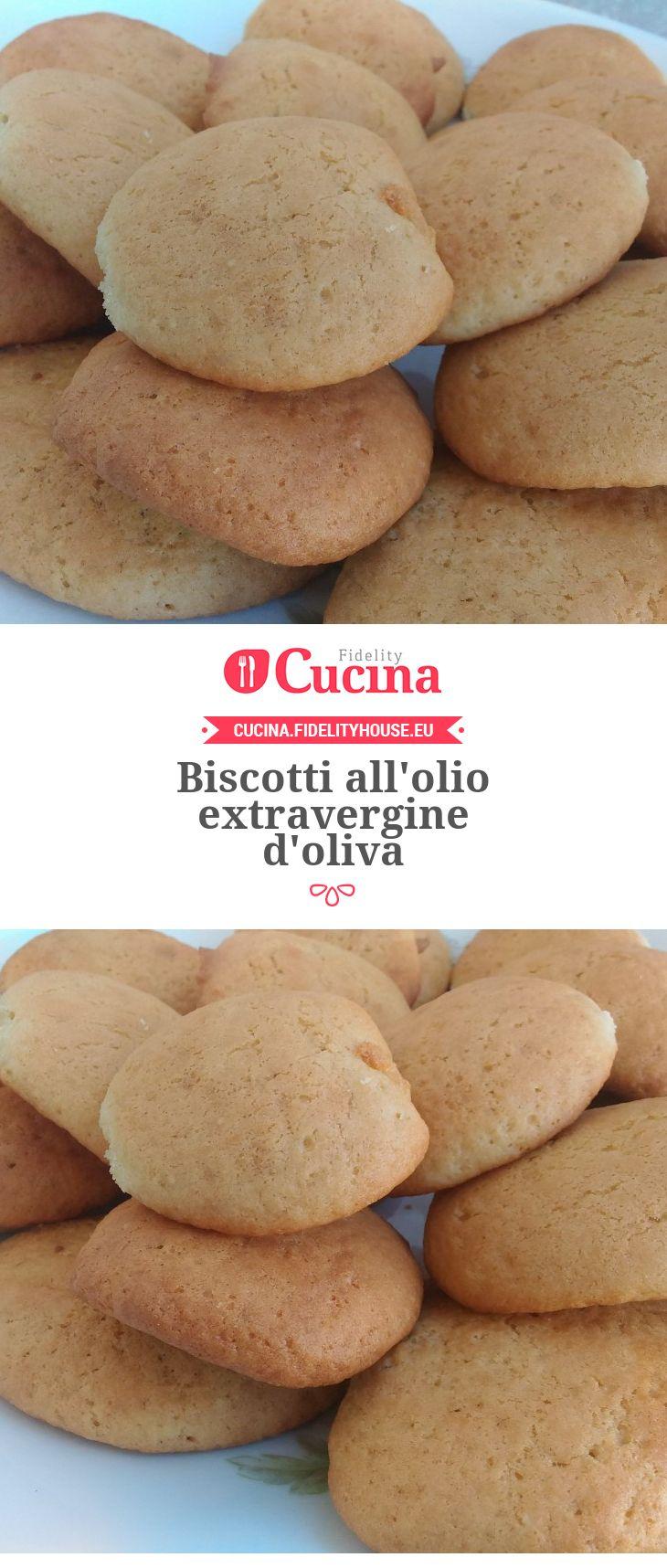 Biscotti all'olio extravergine d'oliva