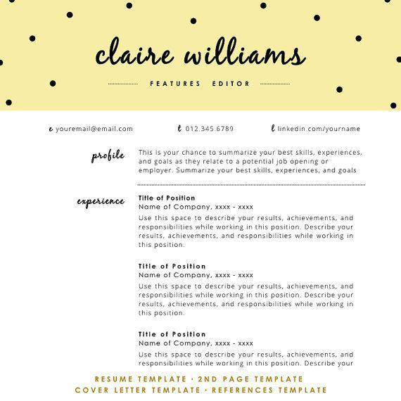100+ best resume design images on Pinterest