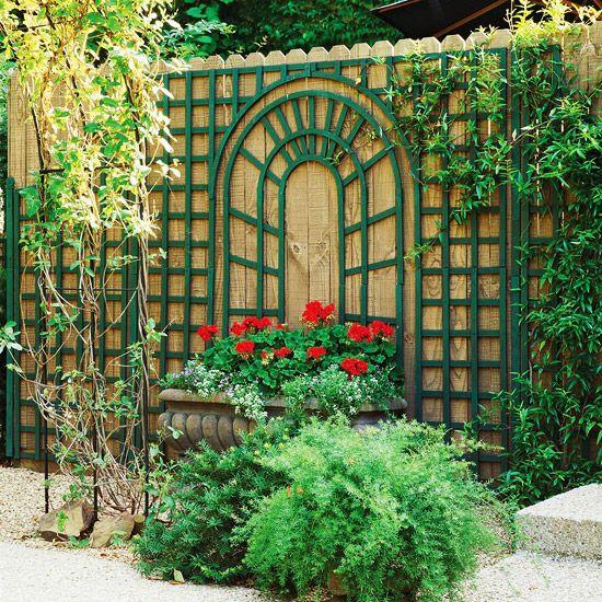 69 best LA Trellis / Lattice images on Pinterest   Garden trellis ... - trellis designs for gardens