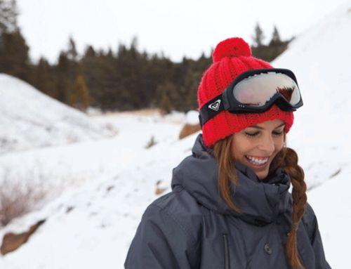 braids are the best when snowboarding!