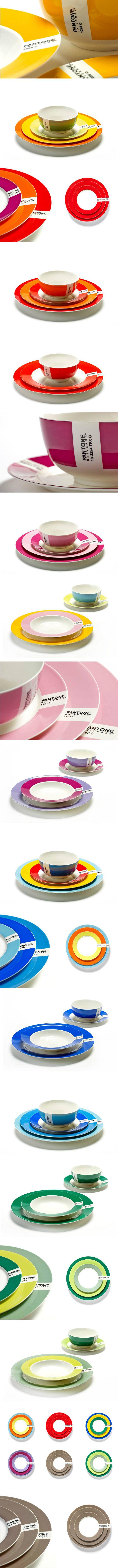 Tableware Pantone collection _ #pantonetableware #tableware #pantone