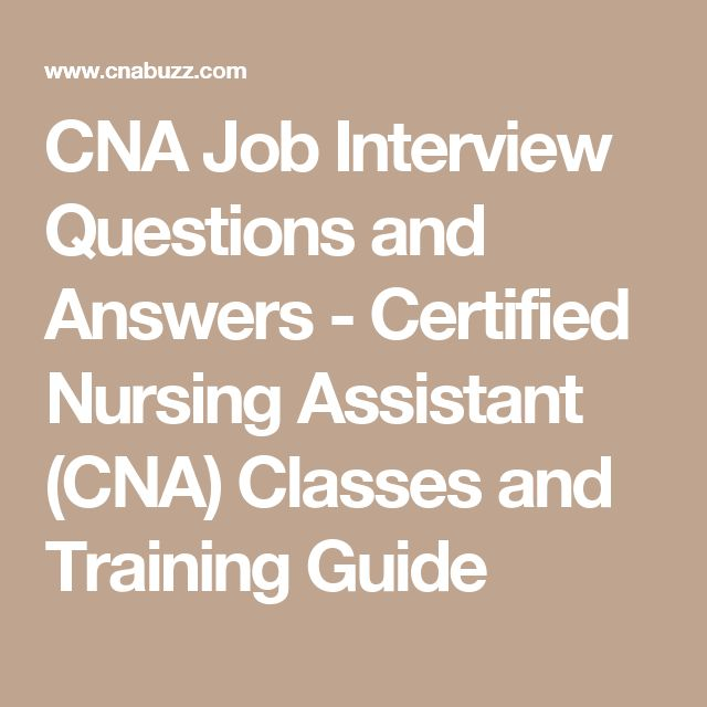 Best 25+ Cna jobs ideas on Pinterest Certified nursing assistant - 911 dispatcher interview questions