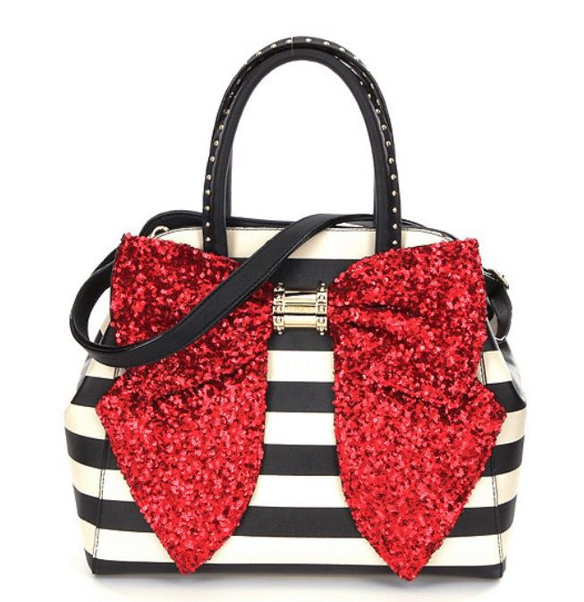 Betsey Johnson Purse PERFECT FOR CHRISTMAS TIME