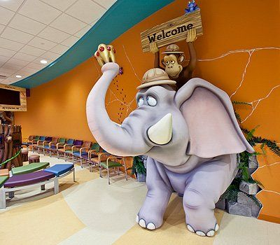 Jungle Themed Pediatric Dental Office By Imagination