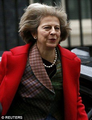 Home Secretary: Theresa May wanted to deport the woman, who was jailed at Blackfriars Crown Court