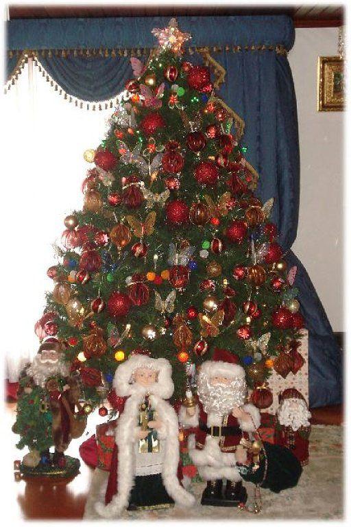 Decoracion de arboles navidenos naturales decoracion for Adornos arbol navidad online