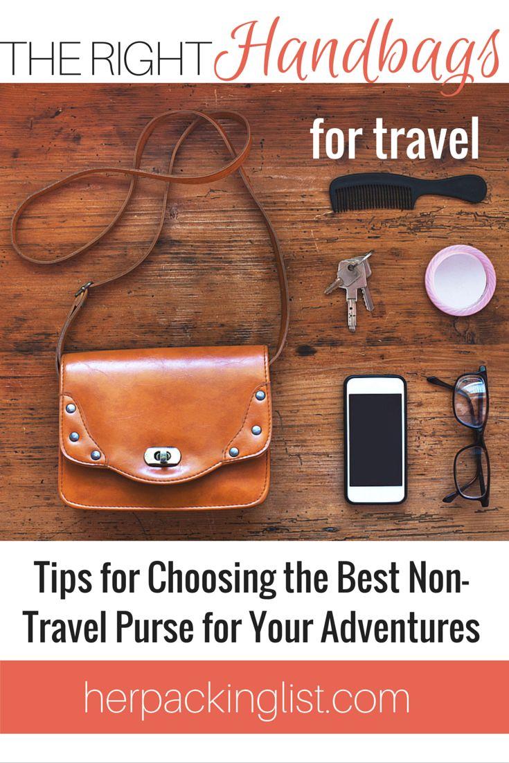 Non-Travel Handbags for Travel
