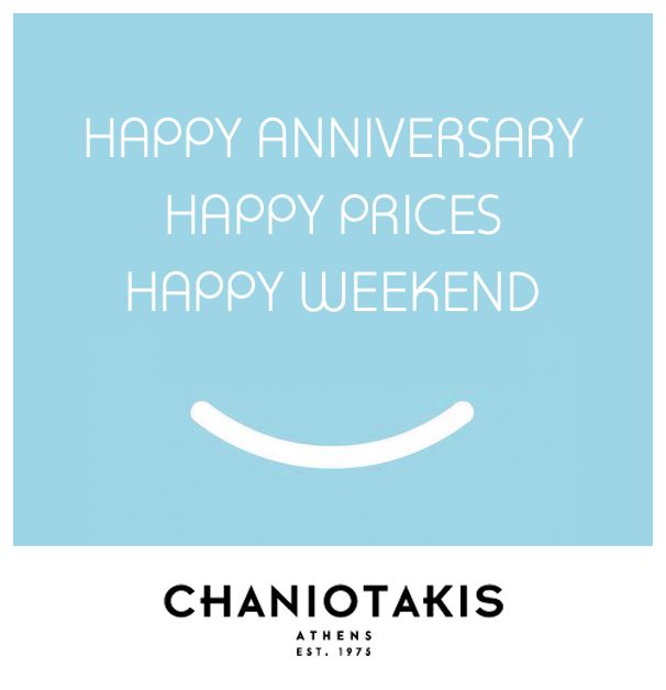 This weekend is meant to be all about our E-Shop HAPPY PRICES!  #offers #prosfores #chaniotakis #shoes