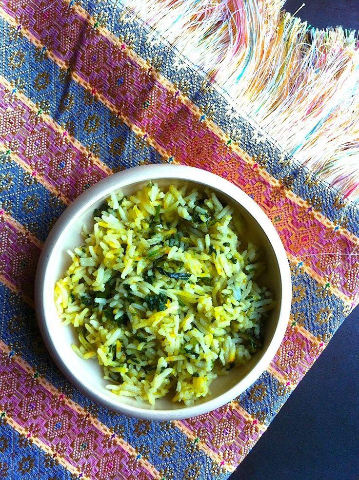 Perzsa zöldfűszeres rizs (sabzi polow) | Chili és Vanília