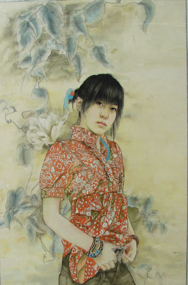 20paintings fishing jpg chinese peasant paintings pinterest - Fan Chunxiao