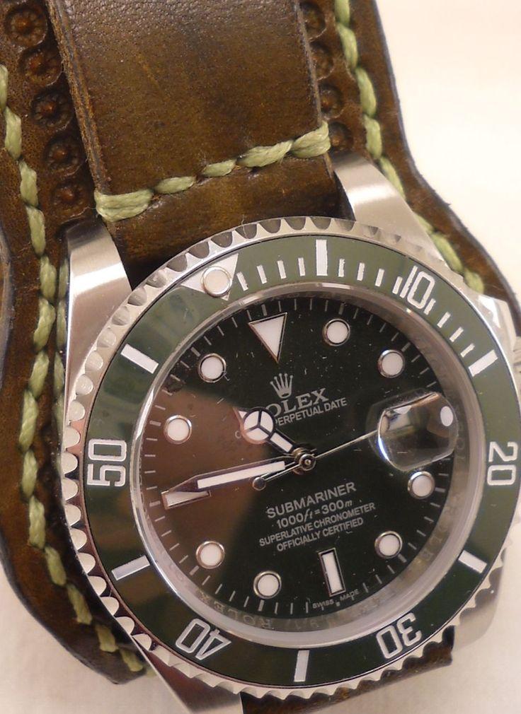 Rolex Submariner di cuoio vestito