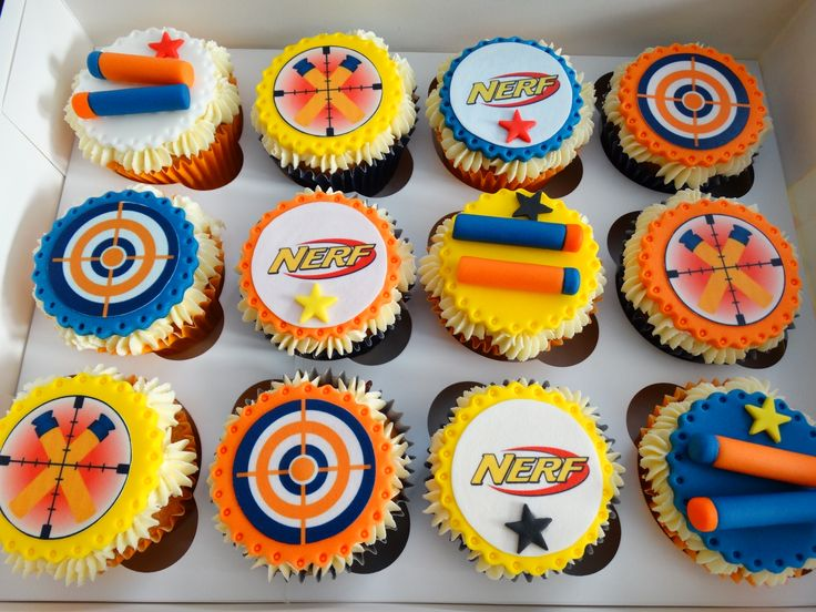 Nerf Themed Cupcakes Xmcx Cupcakes By Millzies Cakes In