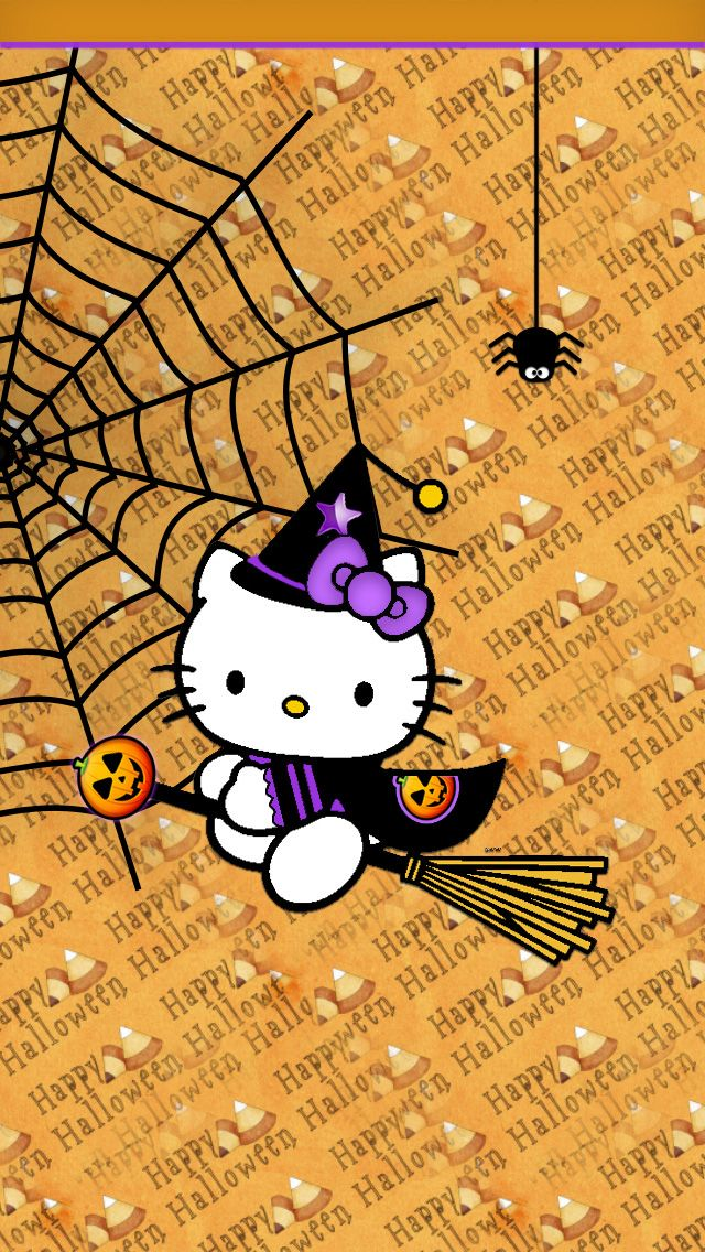 iPhone Wallpaper Halloween tjn Hello Kitty Pinterest