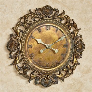 Top 25 best Gold wall clock ideas on Pinterest Rose gold