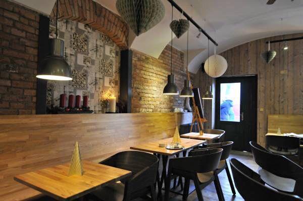 Interior of Organza Cafe