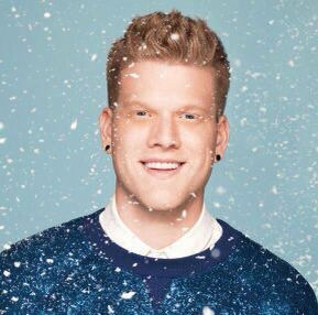 Scott's Christmas outfit for the album cover shoot