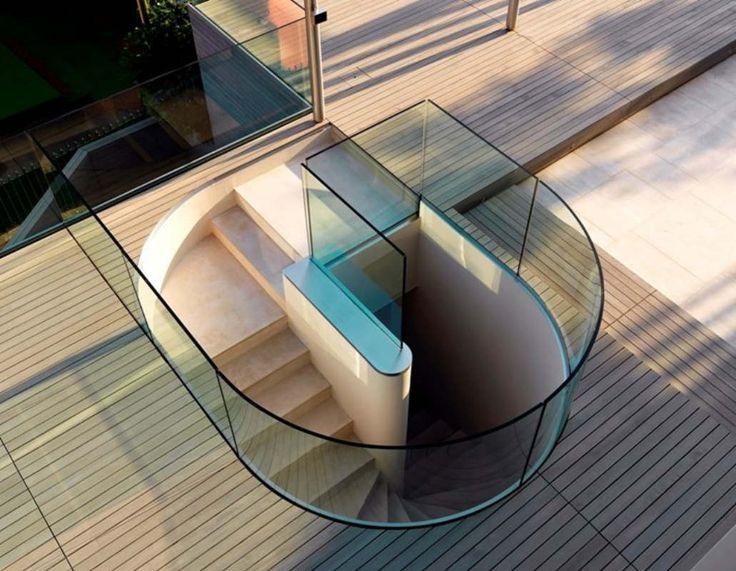 Villa In Roquebrune By Lazzarini Pickering Architetti, Azure Coast, France.  Modern StairsInterior StairsStaircasesStaircase ...