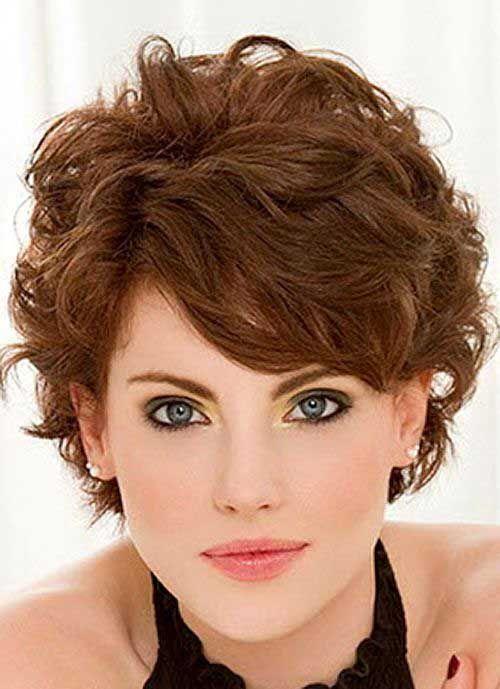 Ideas de cabello corto ondulado para damas cabello corto