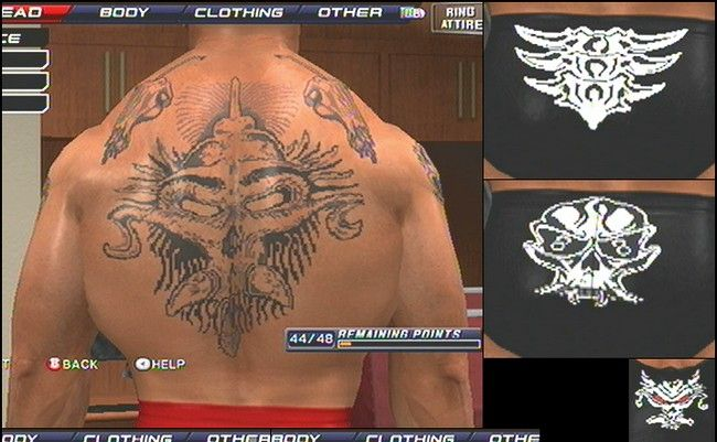40 Brock Lesnar Back Tattoo
