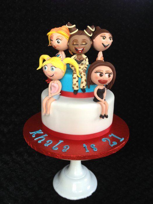 Ginger Afro Birthday Cake