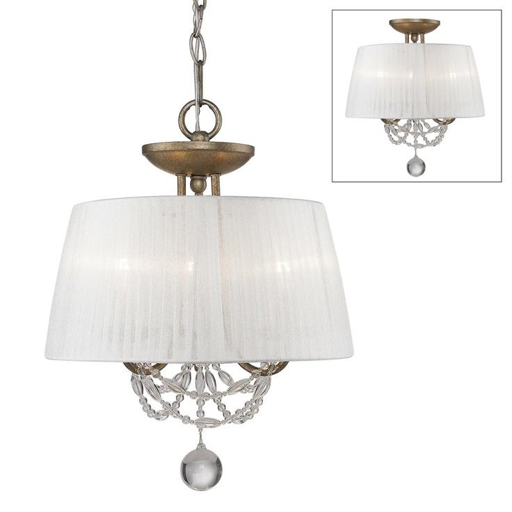 Bathroom Lights Gold Finish 45 best semi mount and ceiling lights images on pinterest