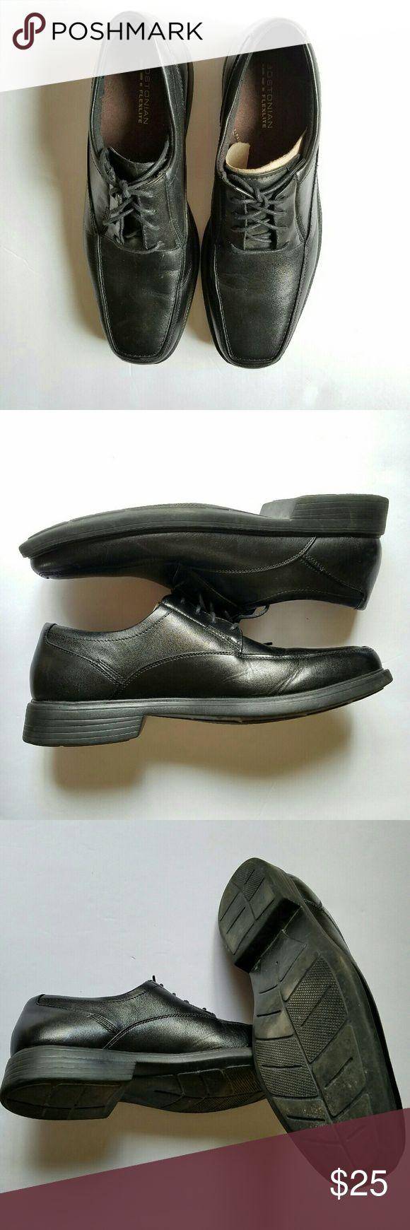 Mens Dress Shoes EUC. TTS. Comfortable Fit. FlexFit. Bostonian Shoes Oxfords & Derbys