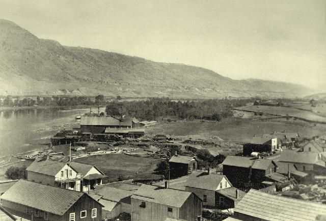 #Kamloops 1886. Founded as two fur trading forts,Kamloops was incorporated in 1893.