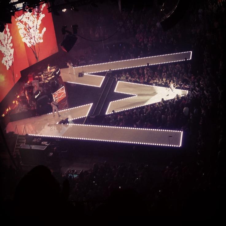 Maroon 5 concert Tulsa, OK 3-22-13