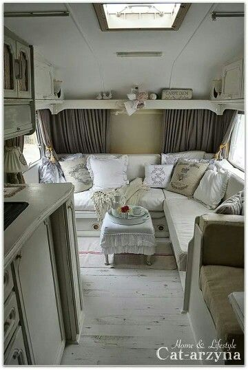♡ such a camper would i like to have!
