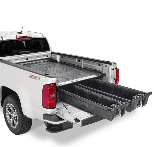 Chevy Colorado Decked Truck Bed Storage System Chevy Colorado Chevy Colorado Accessories Decked Truck Bed