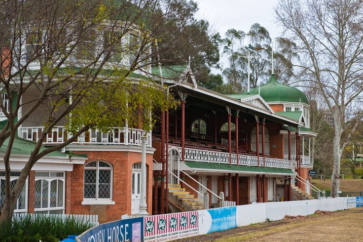 Jubilee Pavilion - Jubilee Pavilion at the Alexandra Oval was officially opened in 1899 to commemorate Queen Victoria's diamond jubilee. It is based on the same design as the ground at Chesterfield in Derbyshire. Pietermaritzburg. KwaZulu Natal. South Africa