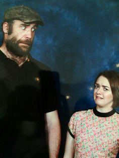 Maisie Williams & Rory McCann