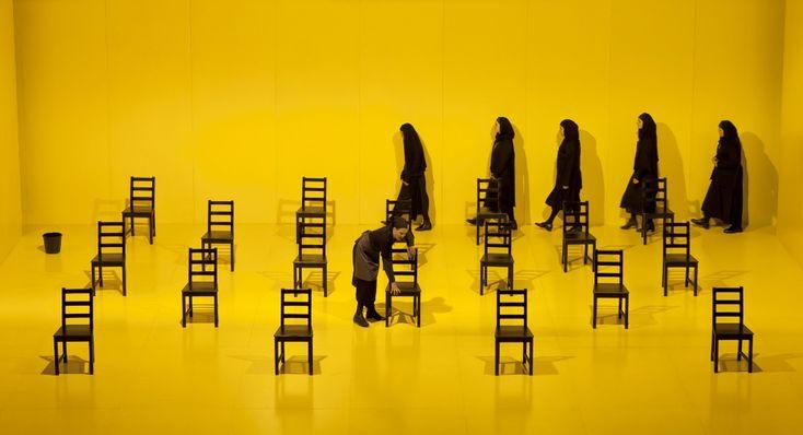 The House of Bernarda Alba /Lorca Beer- Sheba Theatre –Israel – 2014 Director : Gadi Roll Set : Roni Toren Lighting : Felice Ross Costumes : Jehudith Aharon Photo : Maayan Kaufmann