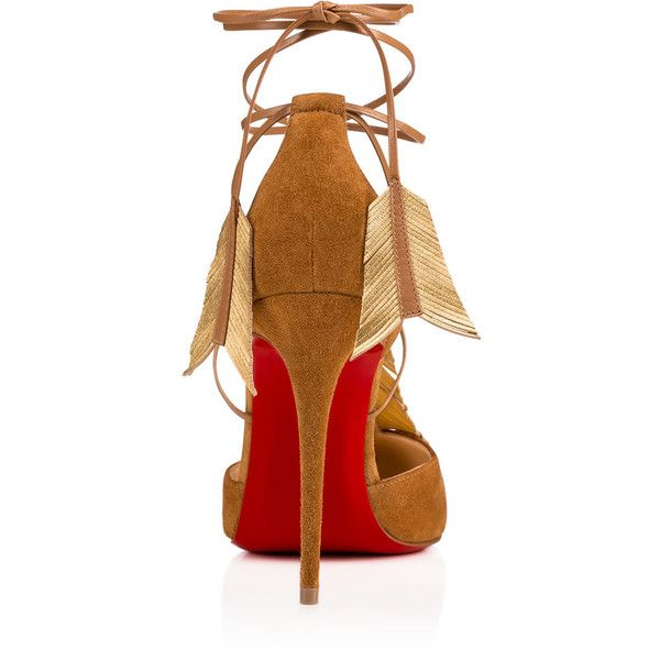 Janidi 100 Version Safari Suede - Women Shoes - Christian Louboutin (875 CHF) ❤ liked on Polyvore featuring shoes, pumps, christian louboutin pumps, christian louboutin and christian louboutin shoes