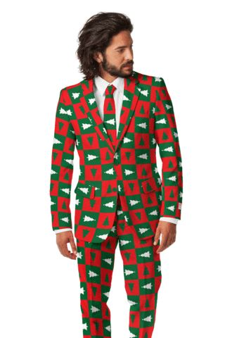 The Tacky Christmas Sweater Holiday Tree Suit - I am so getting this for my husband! :)