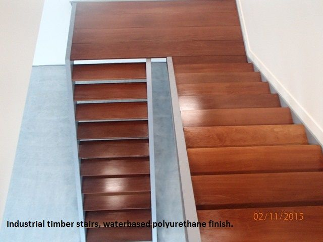 Timber stairs, do your stairs need a sand and polish to see in the new year. Give us a call on 0411220488 for a free quotation